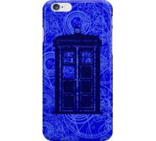 Tardis Watch iPhone Case/Skin