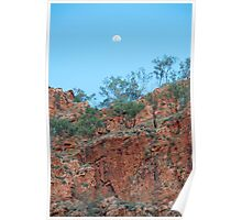 Moon Over The Kimberley Poster