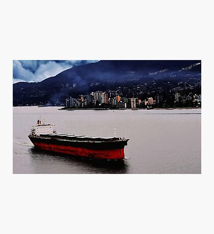 City Ship Photographic Print