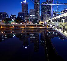 Brisbane Reflections by Peter Doré