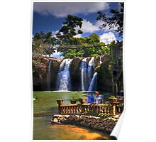 Waterfalls In Cairns Poster
