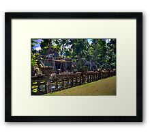 Water Park Framed Print