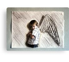 I Don't Want These Wings Canvas Print