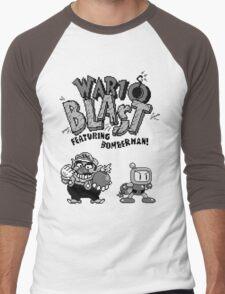Wario BLAST! Men's Baseball ¾ T-Shirt