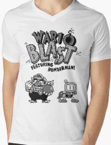 Wario BLAST! Mens V-Neck T-Shirt