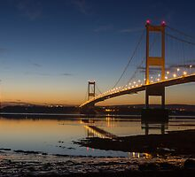 The Severn Bridge - a link to Wales by Cliff Williams
