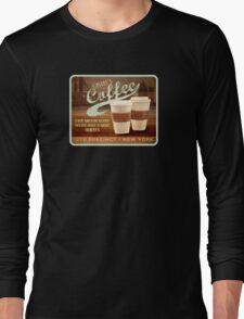 Castle's Coffee T-Shirt Long Sleeve T-Shirt