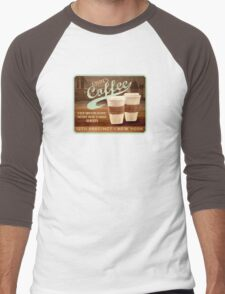 Castle's Coffee T-Shirt Men's Baseball ¾ T-Shirt