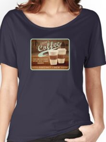 Castle's Coffee T-Shirt Women's Relaxed Fit T-Shirt