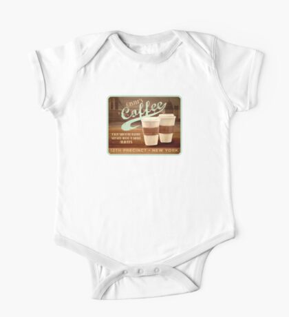 Castle's Coffee T-Shirt One Piece - Short Sleeve