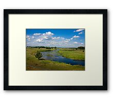 summer nature Framed Print
