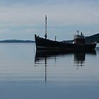Old Fishing Trawler by Lynn Bolt