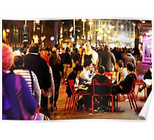 Rokin Table By Night Poster