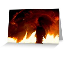 Fire Spirits Greeting Card