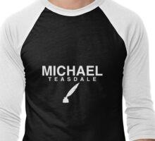 Michael Teasdale Men's Baseball ¾ T-Shirt