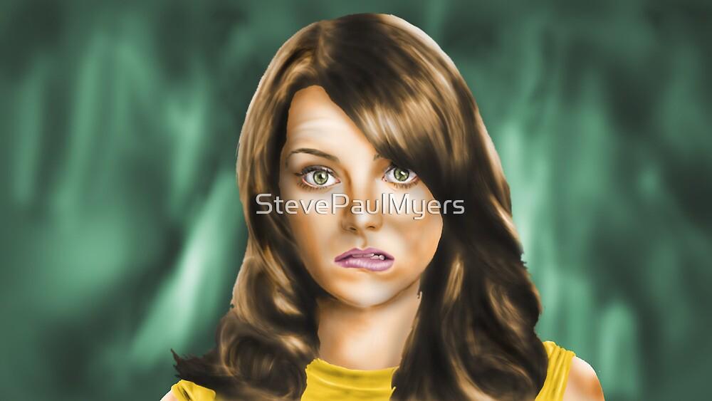 Emma Stone by StevePaulMyers