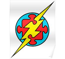 Autism Superhero, The Flash Poster