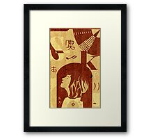 Sleater kinney Framed Print