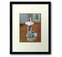 The Old woman who lived in a Shoe Framed Print