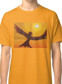 Red Crow Repulsing the Monkey original painting Classic T-Shirt
