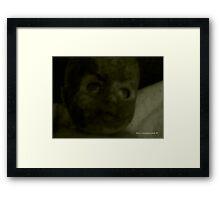 Morbid Fascination Framed Print