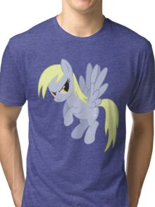 Angry Ditzy Derpy Hooves Tri-blend T-Shirt