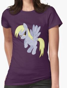 Angry Ditzy Derpy Hooves Womens Fitted T-Shirt