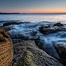 Ocean waves by Adriano Carrideo