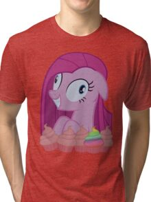 Pinkamena [SFW] (+Cupcakes!) Tri-blend T-Shirt
