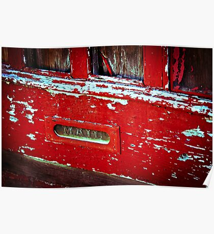 Mail Slot Poster