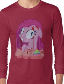 Pinkamena's Bloody Cupcakes Long Sleeve T-Shirt