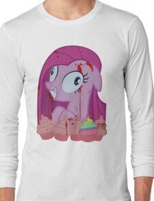 Pinkamena's Bloody Cupcakes Long Sleeve T-Shirt