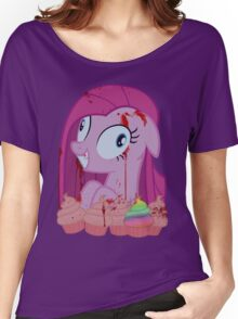 Pinkamena's Bloody Cupcakes Women's Relaxed Fit T-Shirt