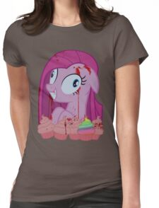 Pinkamena's Bloody Cupcakes Womens Fitted T-Shirt