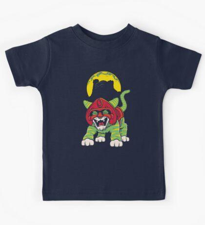 Battle Kitty's Mighty RAWR!  Kids Tee