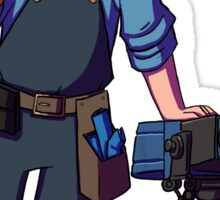 Team Fortress 2 - Blu Engineer - Sentry Sticker