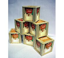 Super Coca Crates Photographic Print