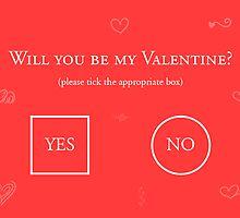 Will You Be My Valentine? by Ovidiu Avrămuş