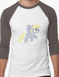 Derpy Hooves Loves You Men's Baseball ¾ T-Shirt