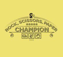 Rock scissors paper Champion - Kidd Kids Clothes