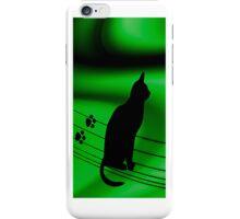 <º))))>< SITTING TALL CAT IPHONE CASE <º))))><      iPhone Case/Skin