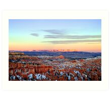Winter in Bryce Canyon - Utah, USA Art Print
