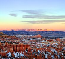Winter in Bryce Canyon - Utah, USA by Paul Gilbert
