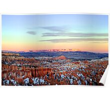 Winter in Bryce Canyon - Utah, USA Poster