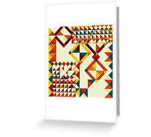 Playing puzzle Greeting Card