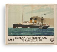 Vintage poster - Ireland Canvas Print