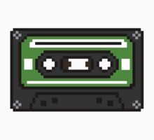 8 bit Old School Cassette Tape by PlatinumBastard