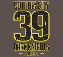 Gotham City Dark Knights Football by mysundown