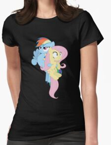 MLP My Little Pony Pegasi Pegasus Ponies Womens Fitted T-Shirt