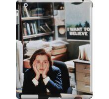DANA SCULLY x files iPad Case/Skin